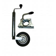 Nokkapyörä + kiinnityspanta (2-reik) 48mm yleismal