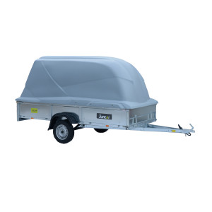 Juncar 330LW Peräkärry kuomulla + varusteet